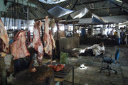 Indian meat market